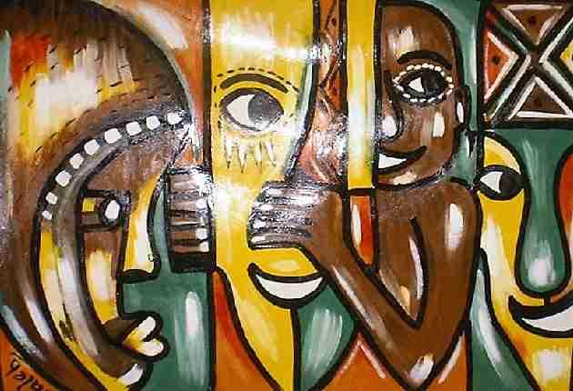 Rebirth Art, African Paintings